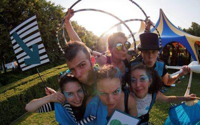 Stribe Tribe Cirkus na festivale Cirkul´art 2016!